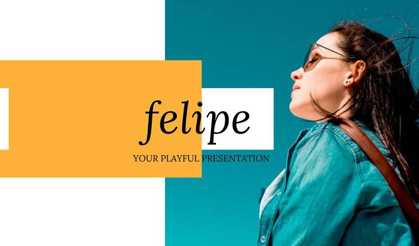 felipe google slides theme presentation template free