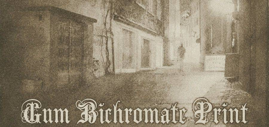Gum Bichromate Print vintage free photoshop action atn