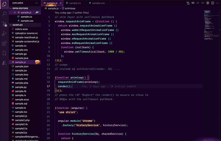 VS Code Fortnith Theme