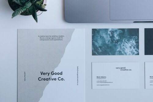 Example from Don't Be Branded as a Cheap, Low-End Designer