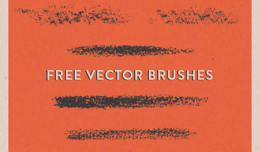 Halftone Vector adobe illustrator brush brushes abr pack set free