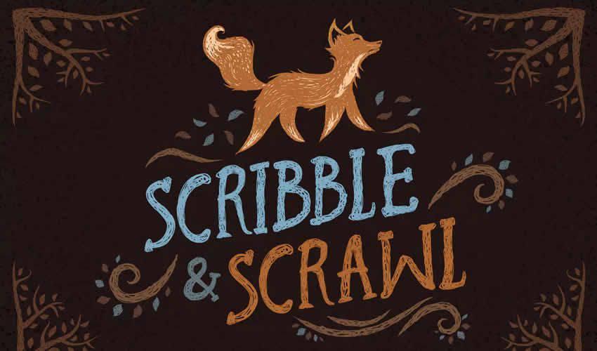 Scribble Scrawl adobe illustrator brush brushes abr pack set free
