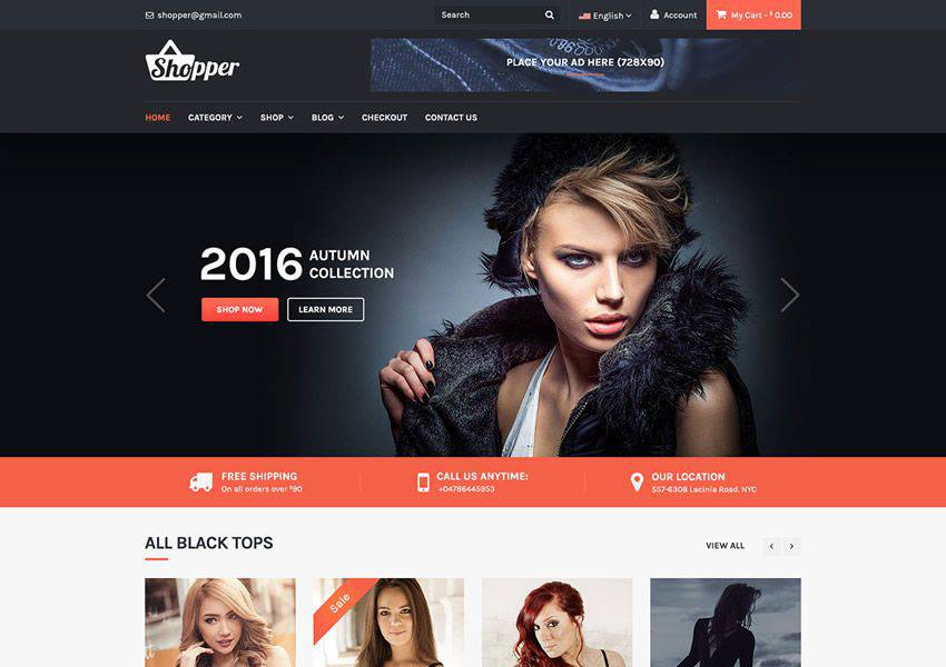 Tyche free wordpress theme wp responsive ecommerce shop woocommerce