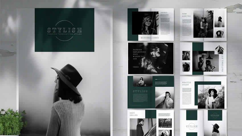 Stylish Fashion Lookbook Brochure