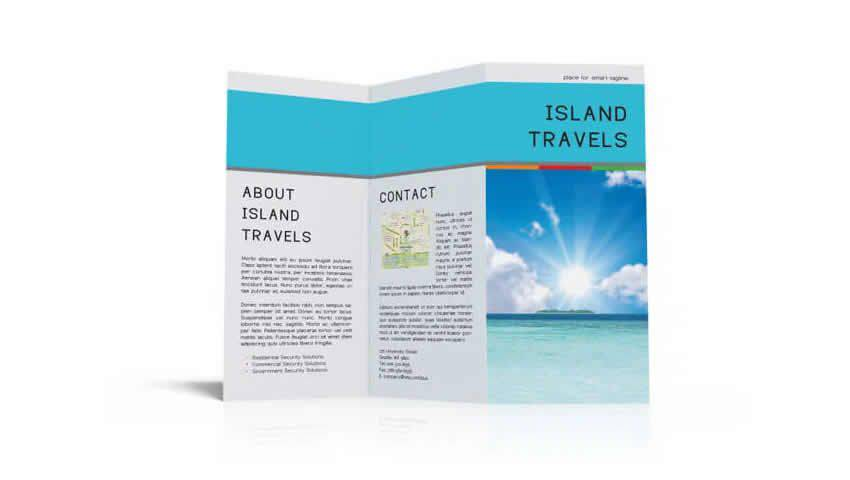 InDesign Tri-Fold Brochure Template