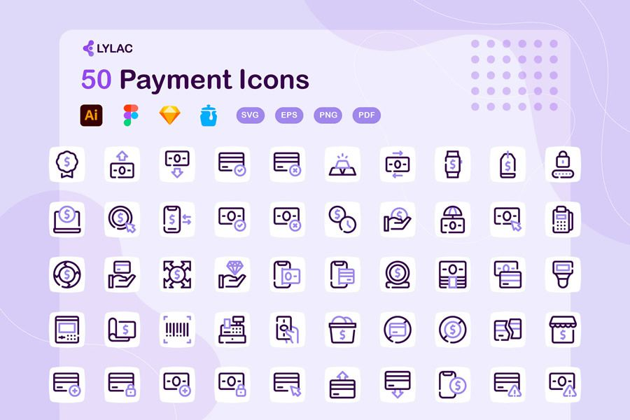 Lylac Payment Icons