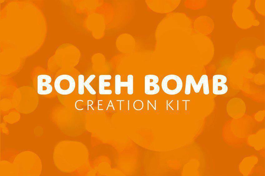 Bokeh Bomb Creation Kit for Photoshop