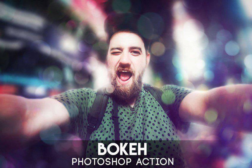 Bokeh Photoshop Actions