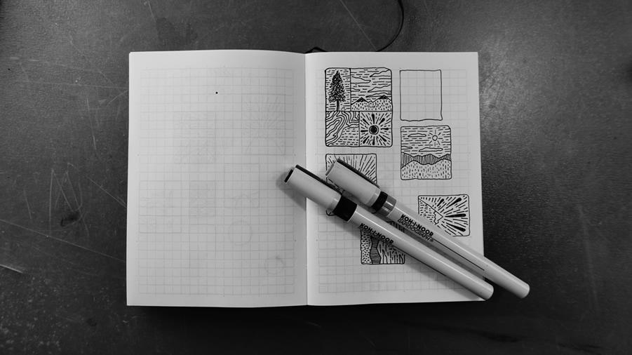Rapidograph & Notebook