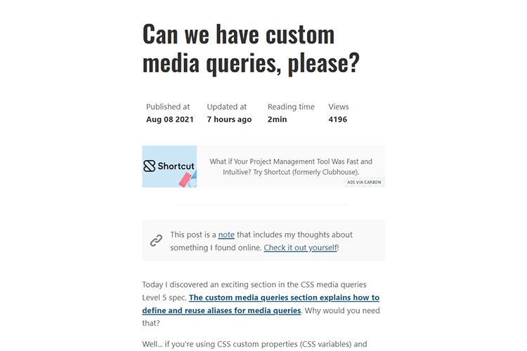 Example from Can we have custom media queries, please?