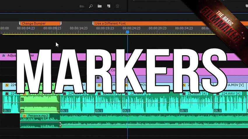 Adding Markers in Premiere Pro