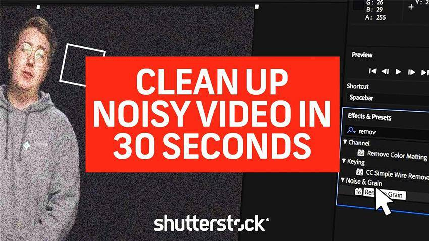 How to Clean Up Noisy Video in Premiere Pro