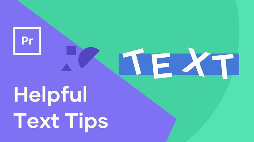 How To Make Your Text Look Better In Premiere Pro