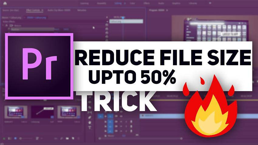 How to Reduce Output File Size in Premiere Pro